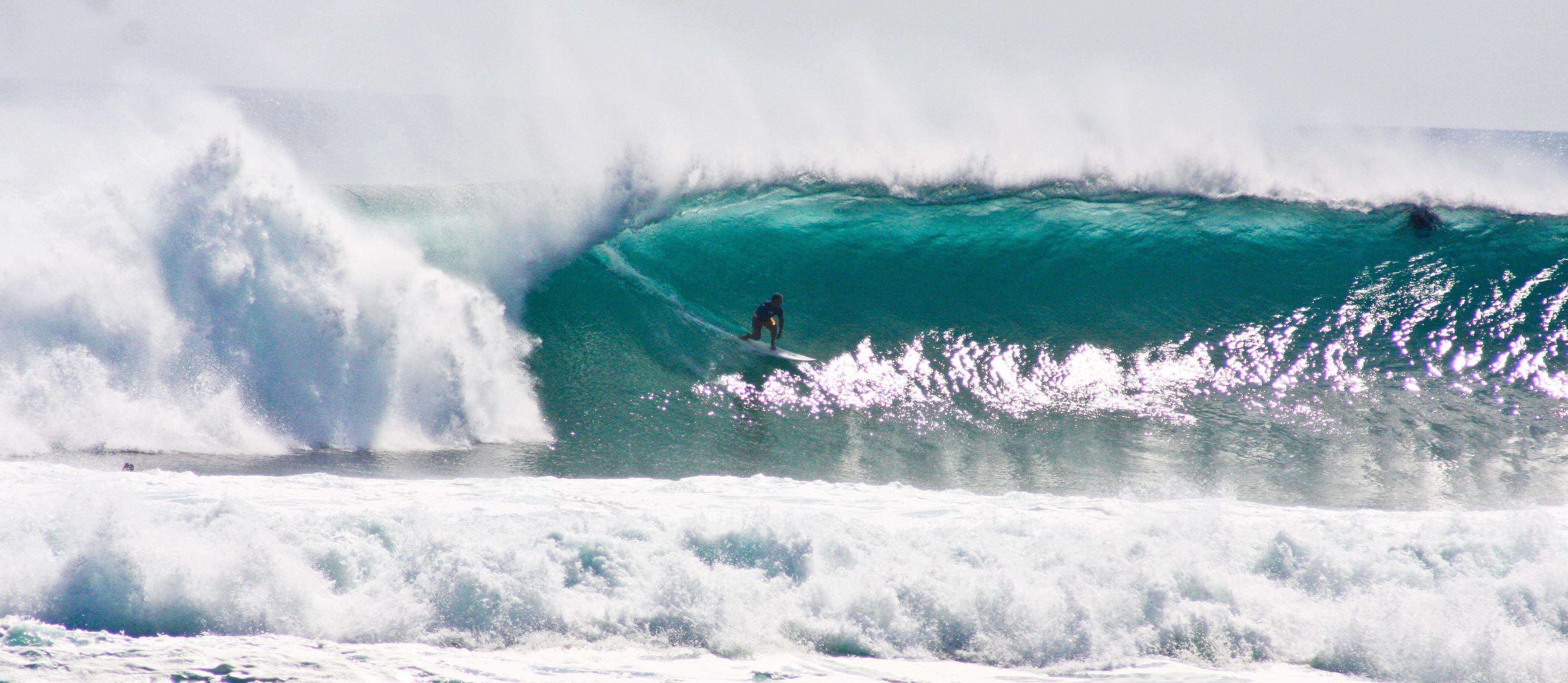 Giornata di surf a Balangan